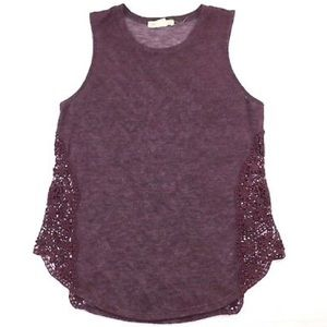 Urban Outfitters Staring At Stars Crochet Top Med